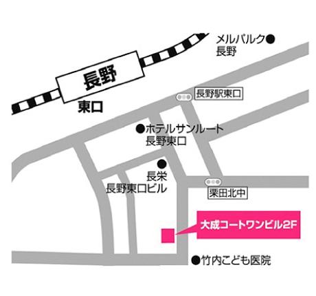 長野会場地図