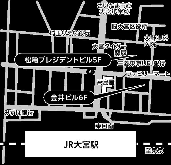 松亀・金井会場地図